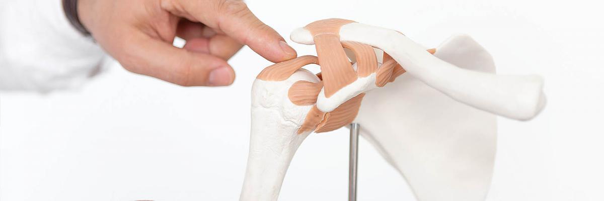 Orthopädische Behandlung von Beschwerden